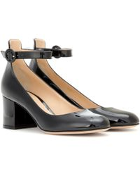 Gianvito Rossi | Greta Mid Patent Leather Court Shoes | Lyst