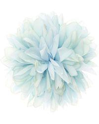 Gucci - Ansteckblume aus Seide - Lyst