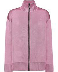 Bottega Veneta - Wool And Silk-blend Jersey Jacket - Lyst