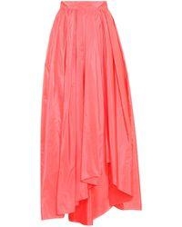 Max Mara - Tarallo Silk-blend Skirt - Lyst