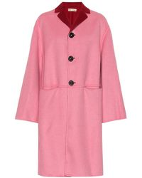 Marni - Cappotto reversibile in lana e cashmere - Lyst