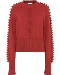 Chloé - Knitted Sweater - Lyst