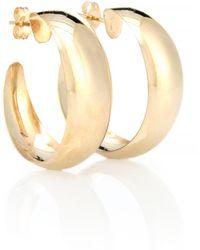 Loren Stewart - Dome Hoops 10kt Gold Earrings - Lyst