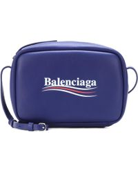 Balenciaga - Everyday Leather Crossbody Bag - Lyst