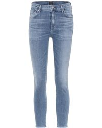Citizens of Humanity - Rocket Crop High-rise Jeans - Lyst