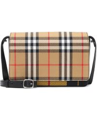 Burberry - Vintage Check Shoulder Bag - Lyst