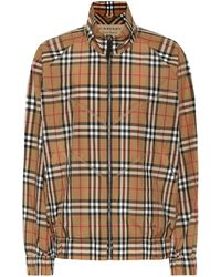 Burberry - Checked Jacket - Lyst