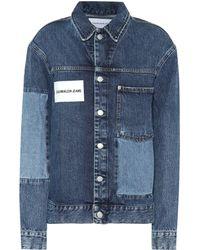 Calvin Klein - Denim Jacket - Lyst