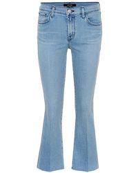 J Brand - Jeans Selena cropped - Lyst