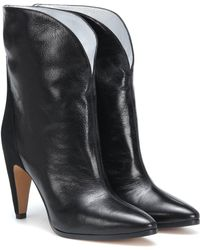 Givenchy - Gv3 Leather Ankle Boots - Lyst