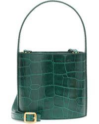 STAUD - Bissett Embossed Leather Bucket Bag - Lyst