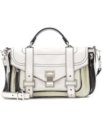 Proenza Schouler - Ps1 Tiny Leather Shoulder Bag - Lyst