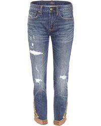 Polo Ralph Lauren - Verzierte Jeans Waverly - Lyst