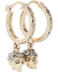 Alexander McQueen - Crystal-embellished Earrings - Lyst