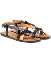Isabel Marant - Jalmee Leather Sandals - Lyst