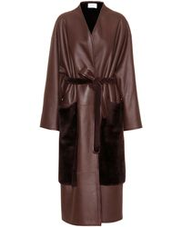 The Row - Nooman Shearling Coat - Lyst