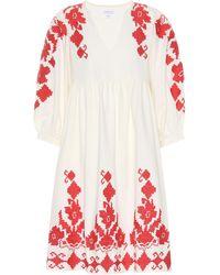Velvet - Jora Cotton And Linen Dress - Lyst