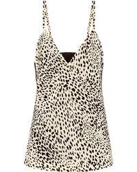 Haider Ackermann - Cheetah-printed Silk Top - Lyst