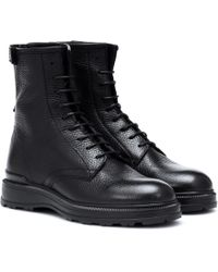 Woolrich - Leather Lace-up Boots - Lyst
