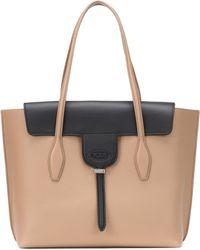 Tod's - Joy Medium Leather Tote Bag - Lyst