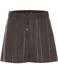Proenza Schouler - Printed Cotton Shorts - Lyst