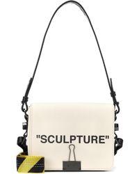 ecddafd83940 Off-White c o Virgil Abloh - Binder Clip Canvas Shoulder Bag - Lyst
