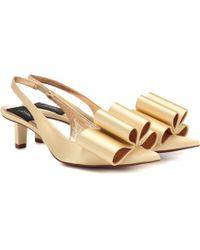 Marc Jacobs - Satin Slingback Court Shoes - Lyst