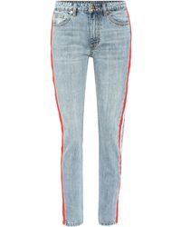 P.E Nation - Alley-oop Striped Jeans - Lyst