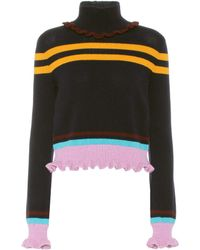 Valentino - Virgin Wool And Cashmere Sweater - Lyst