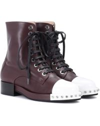 N°21 - Leather Ankle Boots - Lyst