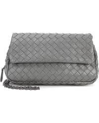 Bottega Veneta - Intrecciato Leather Shoulder Bag - Lyst