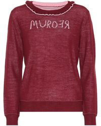 Undercover - Murder Reversible Wool Sweater - Lyst