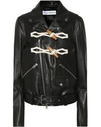 JW Anderson - Women's Biker Jacket With toggle Detail - Lyst