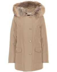 Woolrich - Arctic Fur-trimmed Parka - Lyst