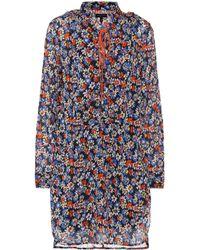 62d4e5e72cb48 Rag   Bone - Isla Floral Cotton Dress - Lyst