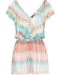 Missoni - Knitted Playsuit - Lyst