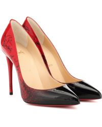 Christian Louboutin - Exclusive To Mytheresa – Pigalle Follies 100 Patent Leather Pumps - Lyst