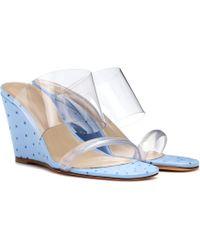 Maryam Nassir Zadeh - Olympia Wedge Sandals - Lyst