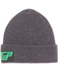 Prada - Rib-knit Wool Beanie - Lyst