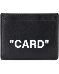 Off-White c/o Virgil Abloh - Quote Leather Card Holder - Lyst
