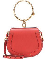 Chloé - Small Nile Leather Bracelet Bag - Lyst