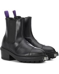 Eytys - Nikita Patent Leather Ankle Boot - Lyst