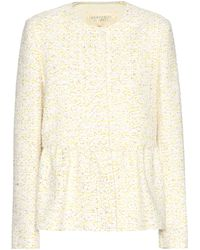 Giambattista Valli - Cotton-blend Bouclé Jacket - Lyst