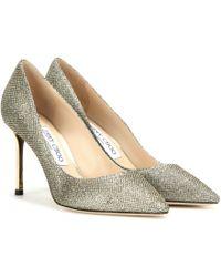 Jimmy Choo - Romy 85 Metallic Court Shoes - Lyst