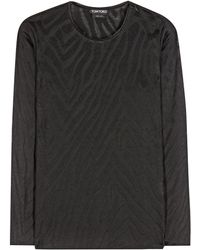 Tom Ford - Knitted Top - Lyst