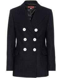 ALEXACHUNG - Wool-blend Blazer - Lyst