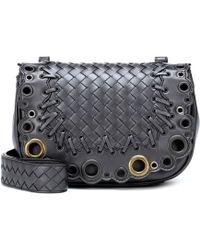 e4b3f8049dc6 Bottega Veneta - Bv Luna Leather Shoulder Bag - Lyst
