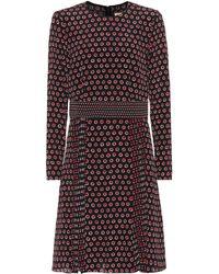 Burberry - Silk-crêpe Dress - Lyst
