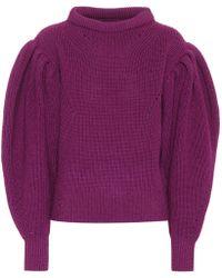Isabel Marant - Brettany Wool Sweater - Lyst