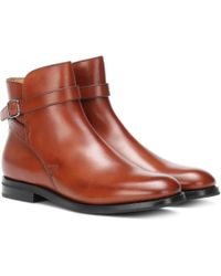Church's - Ankle Boots Merthyr aus Leder - Lyst